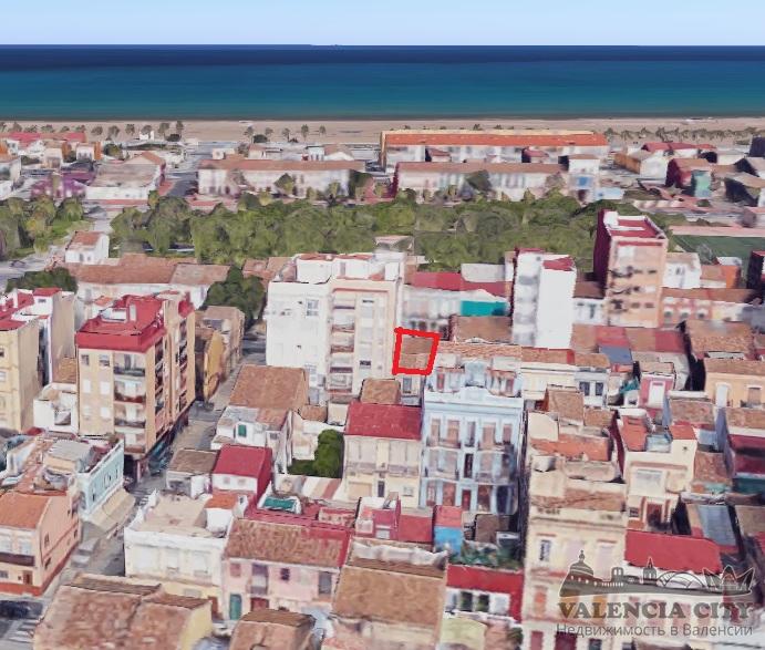 Участок под строительство рядом с пляжем в Валенсии, Испания