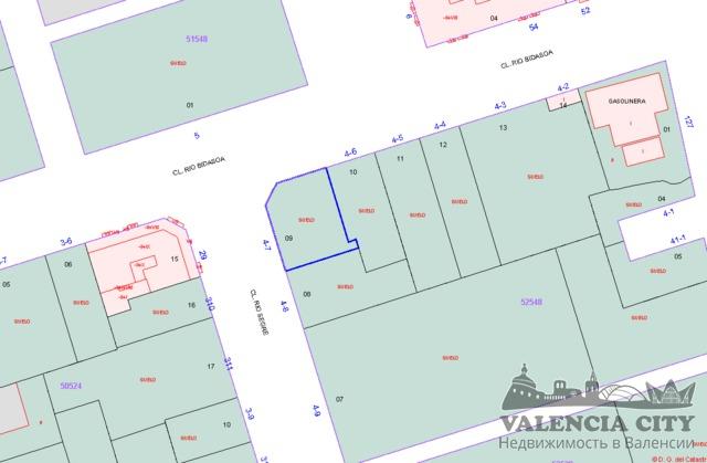 Участок земли под строительство резиденции в городе Валенсия