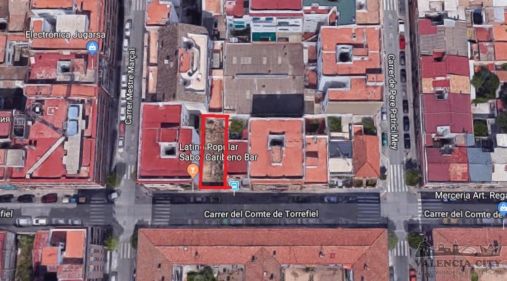 Участок земли под строительство в спальном районе Валенсии