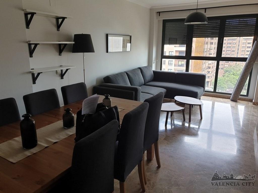 Аренда эксклюзивной квартиры в лучшем районе Валенсии
