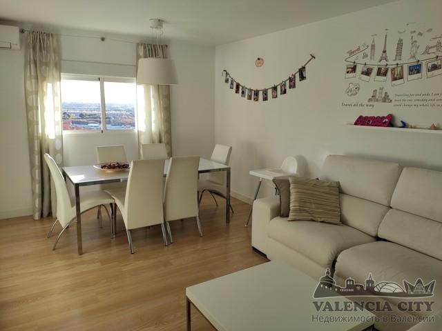 Продажа квартиры с ремонтом в спальном районе Валенсии