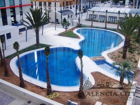 Элитная квартира в закрытой резиденции, Валенсия