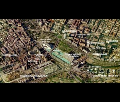 Аренда пентхауса в закрытой резиденции в Валенсии