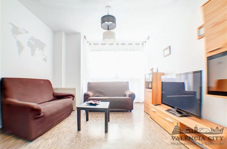 Аренда квартиры в районе Мальвароса, Валенсия