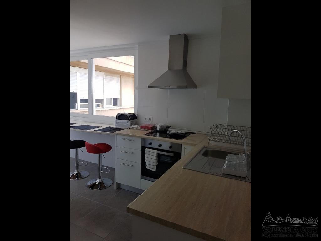 Квартира в аренду рядом с морем в Валенсии, Испания