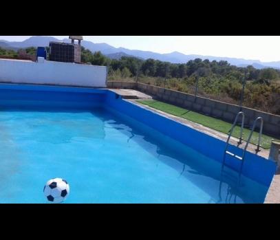Продается дом с участком земли в пригороде Валенсии, Испания