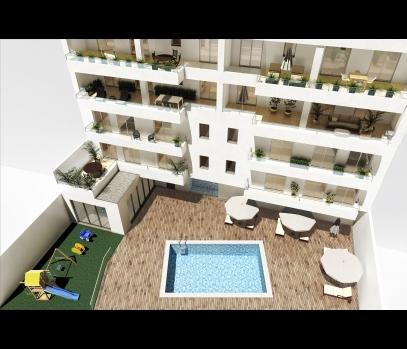 Новая недвижимость в жилом комплексе Galdós 33 в Валенсии